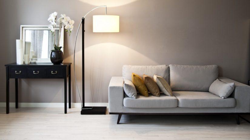 designové obloukové lampy