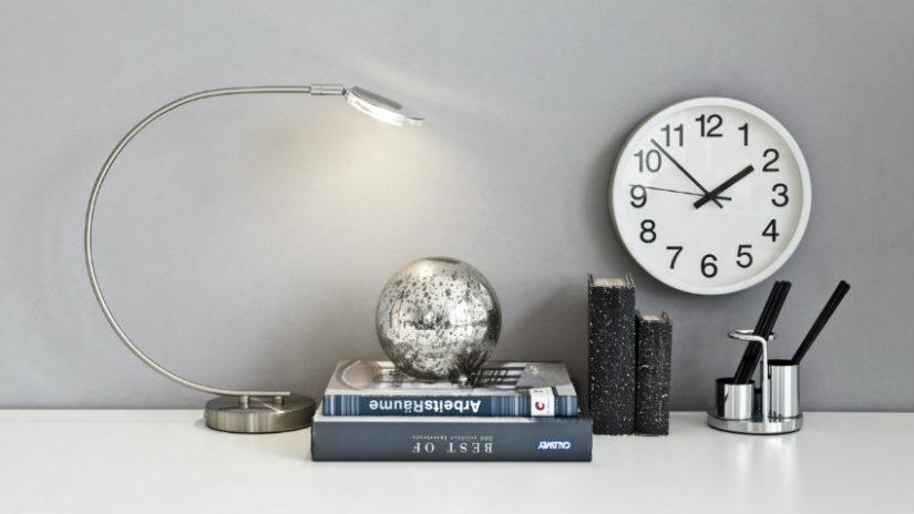 retro obloukové lampy