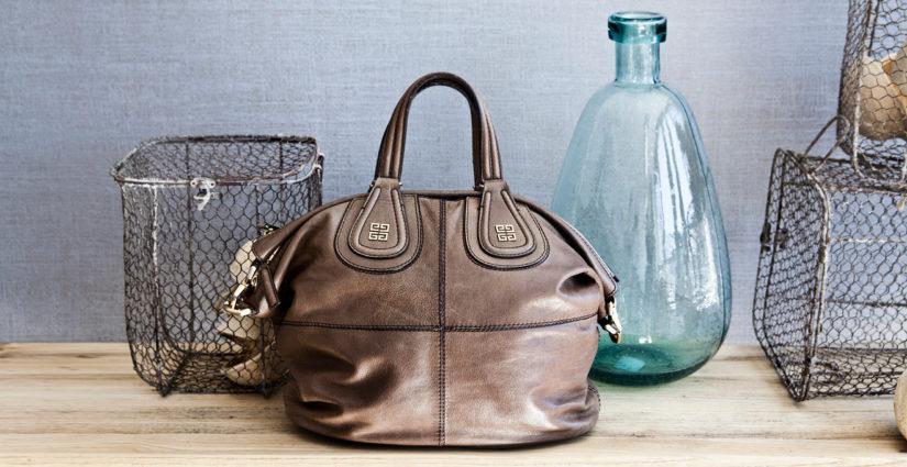kabelky jako dekorace