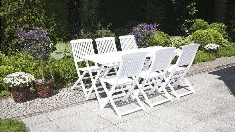 skládací Zahradní nábytek odolný proti počasí