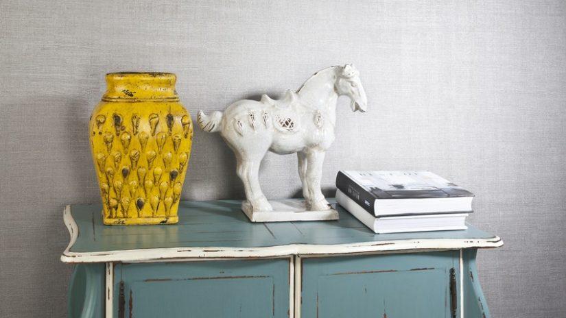 asijské dekorace - kůň