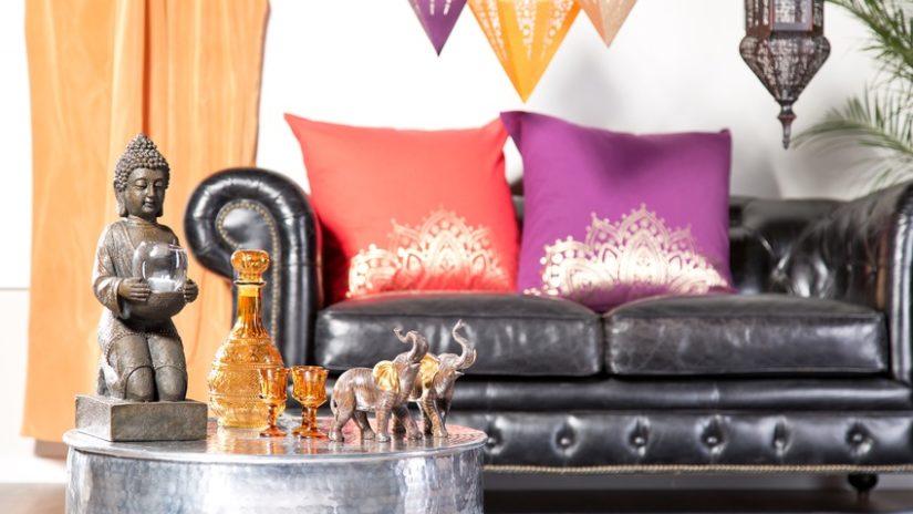 asijské dekorace - polštáře