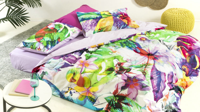barevná skládací matrace