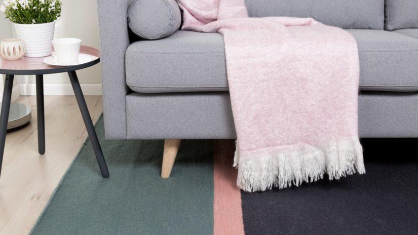 stylová vlněná deka