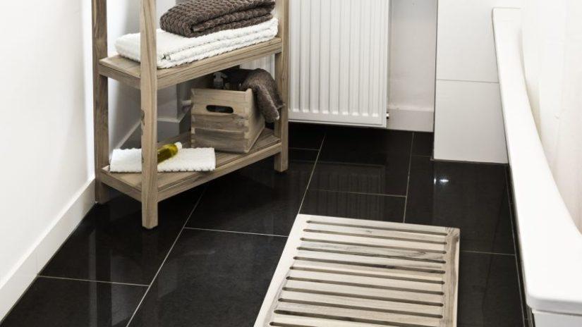 stylový koberec do koupelny