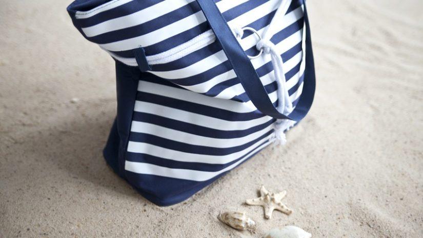 námořnická plážová taška