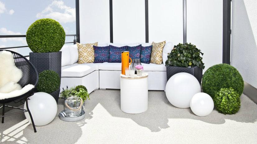bílý Designový zahradní nábytek
