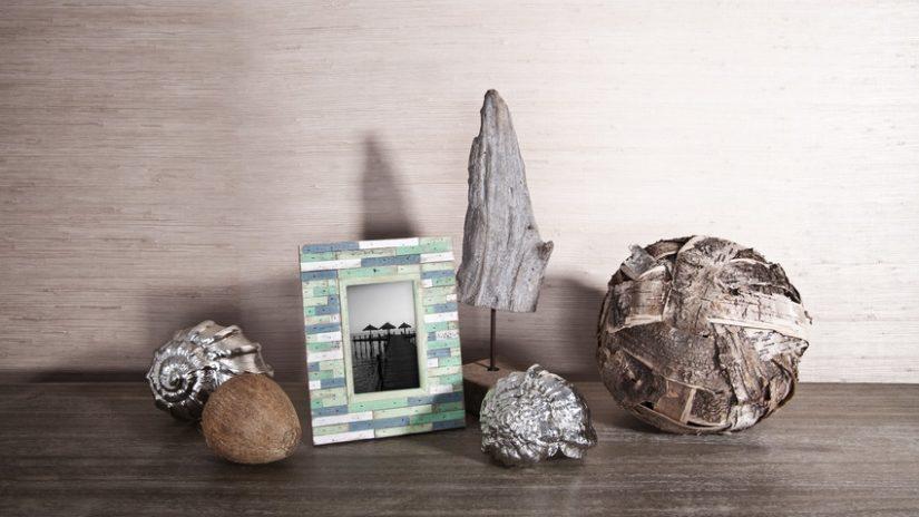 dekorace z naplaveného dřeva - koule