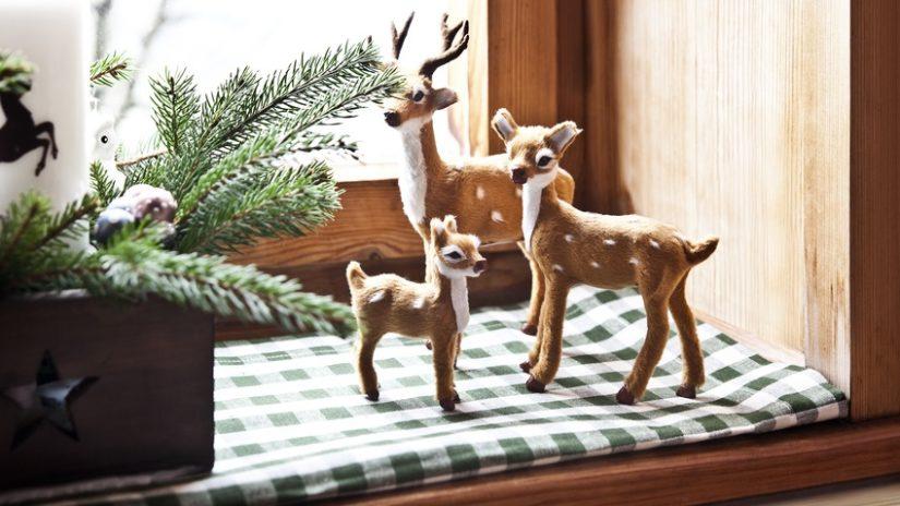 jelení paroží - figurky