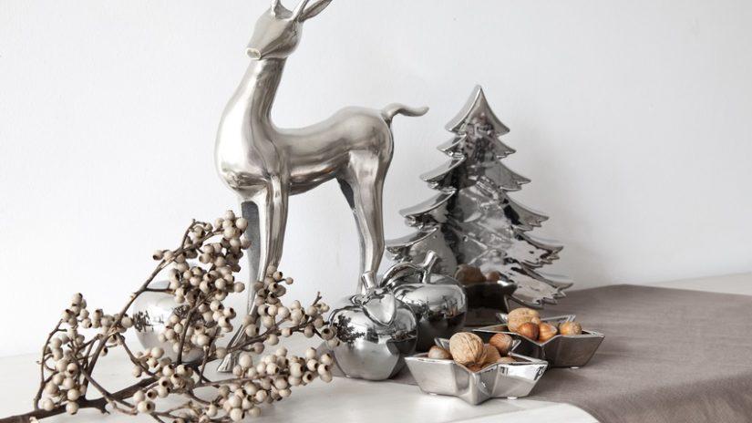 jelení hlava - vánoční dekor