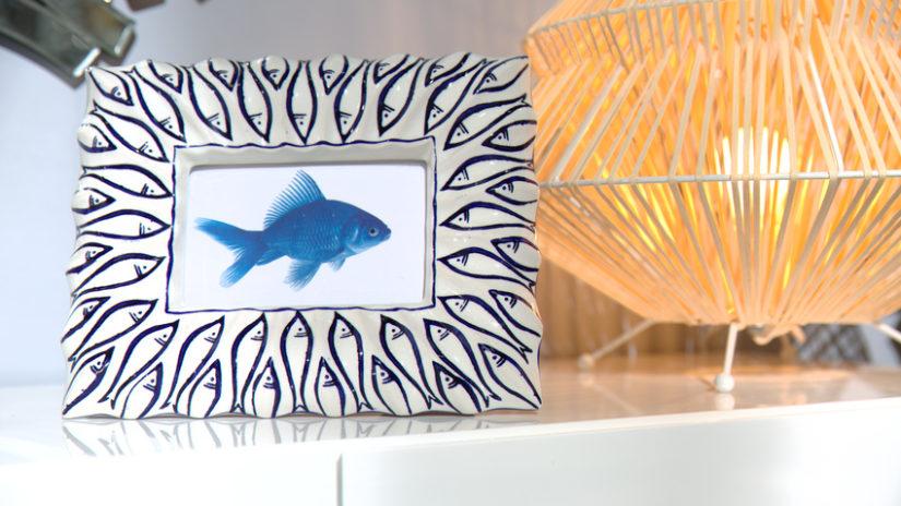 dekorativní obrazy v keramickém rámu