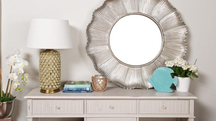 glamour stříbrné dekorace