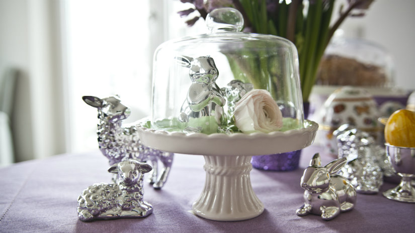 stříbrný velikonoční beránek