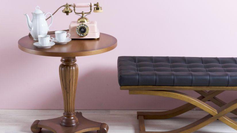vintage odkládací stolek