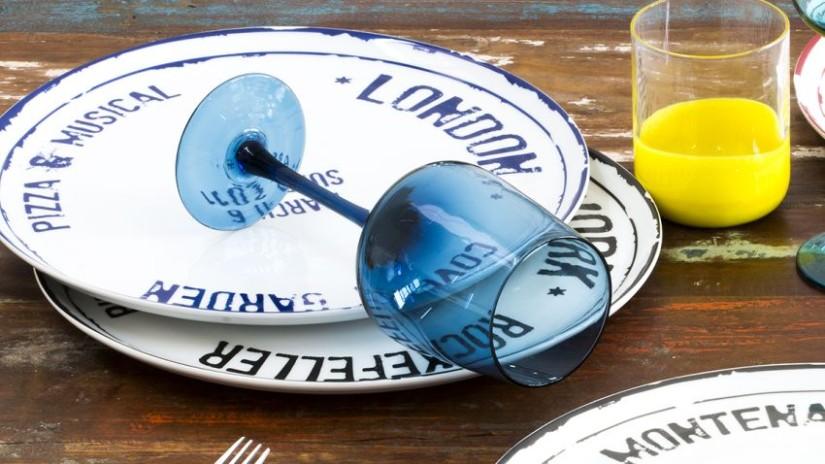 stylové talíře