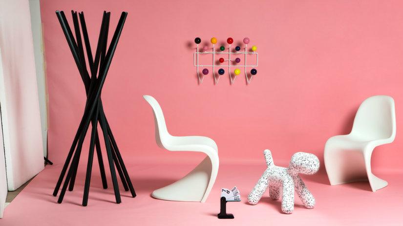 plastová konzolová židle