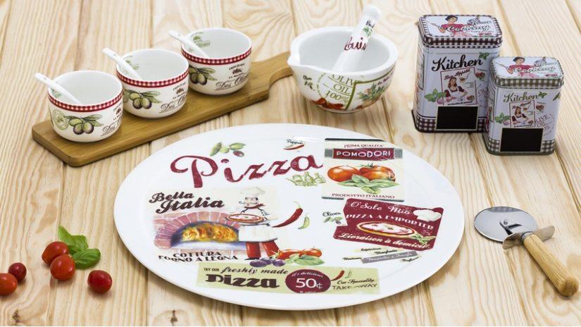 italské talíře