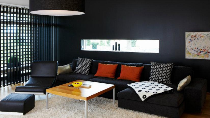 elegantní černé tapety