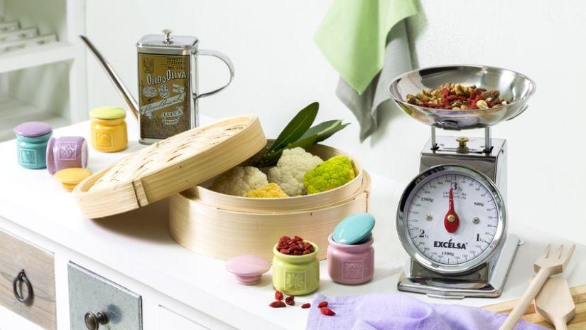 elegantní kuchyňská váha