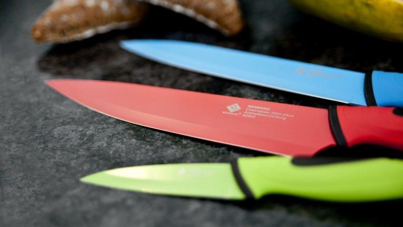 barevné nože