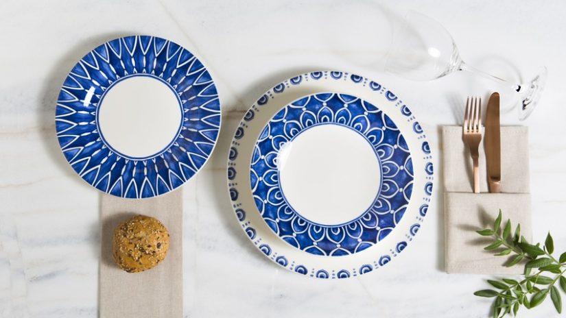 stylové hluboké talíře