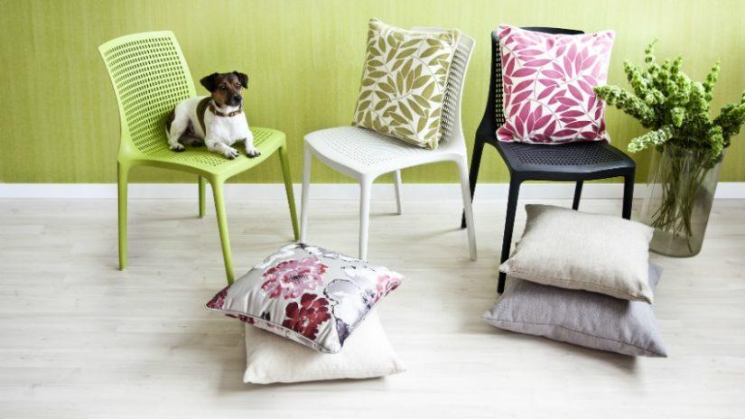 moderní zelená židle