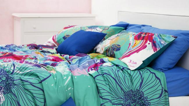 schlafzimmer gestalten mit bunten farben - Schlafzimmer Gestalten Mit Creme