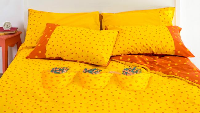 im sommerlichen gelb das schlafzimmer gestalten - Schlafzimmer Gestalten Mit Creme