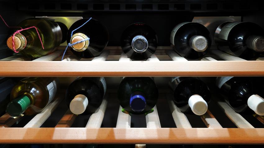 Weinlagerung
