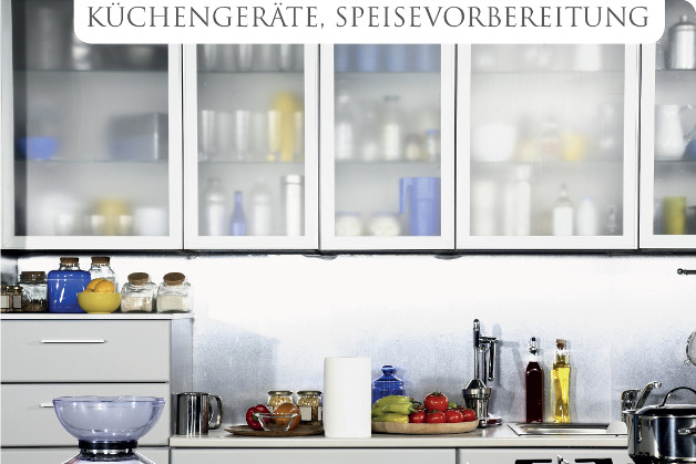 Küchengeräte, Speisenvorbereitung