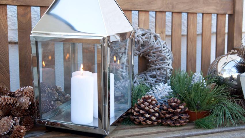 Weihnachtsdeko Balkon: Jetzt 70% Sparen | Westwing Weihnachtsdeko Balkon Winter Ideen