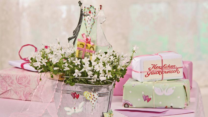 Glückwunschkarte Hochzeit