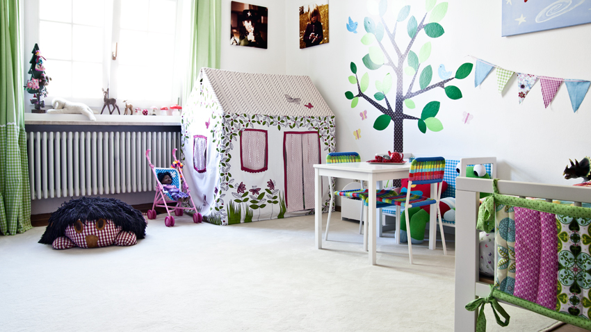 Messlatte Kinderzimmer