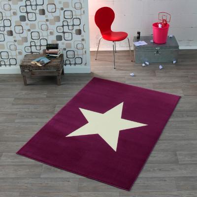 Kinderteppich mit Stern