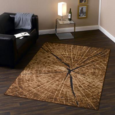 Teppich in Holzoptik