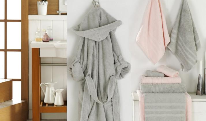 Handtuch und Bademantel-1