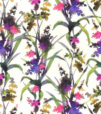 Graham & Brown Blumentapete lila, pink, grün