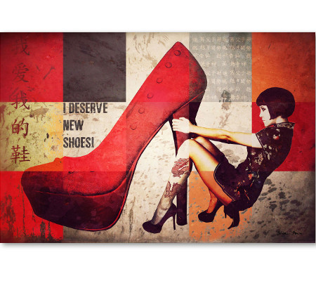 Identity Art High Heel