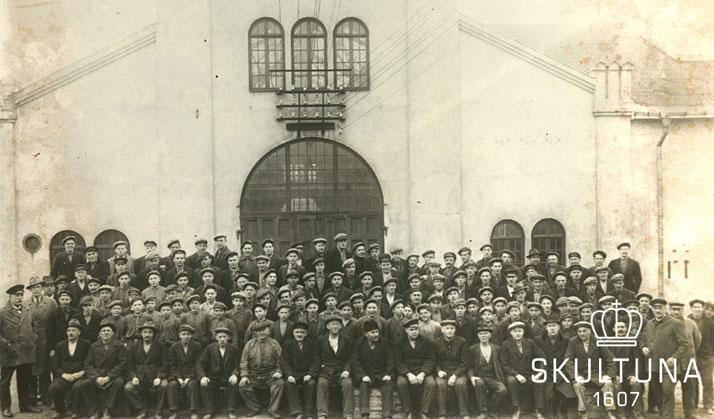 Skultuna - Mitarbeiter früher