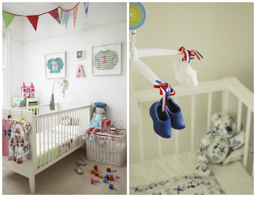 habitaciones para bebés estilos