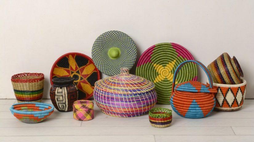 Ideas para decorar cestas