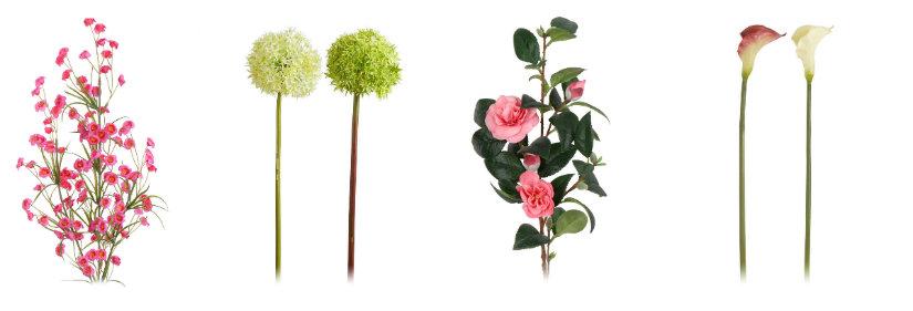 decoración de primavera flores