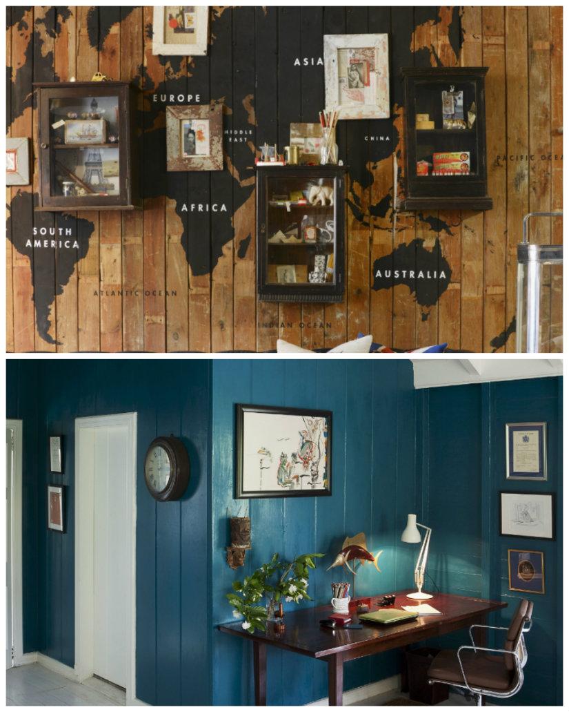 Decoraci n de paredes ideas y fotos para inspirarte - Decoracion original paredes ...