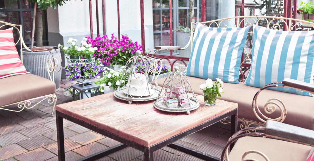 Mesas de terraza