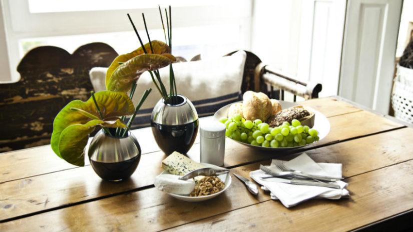 decoración con pino cocina