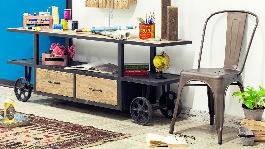 Muebles con ruedas