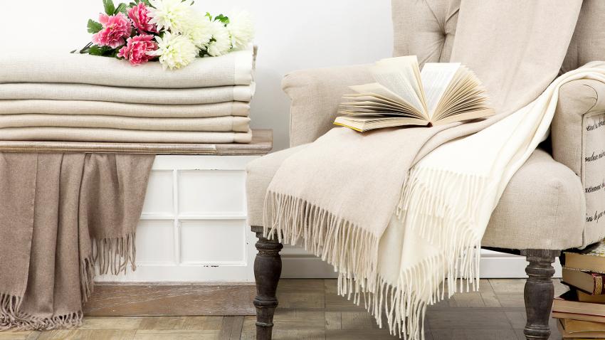 Mantas para sofás