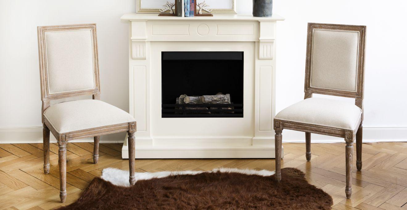 Chimeneas el ctricas calor en casa sin obras westwing for Salones con chimeneas electricas