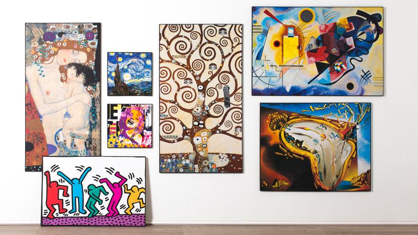 L minas para cuadros arte y estilo en casa westwing for Laminas grandes para cuadros