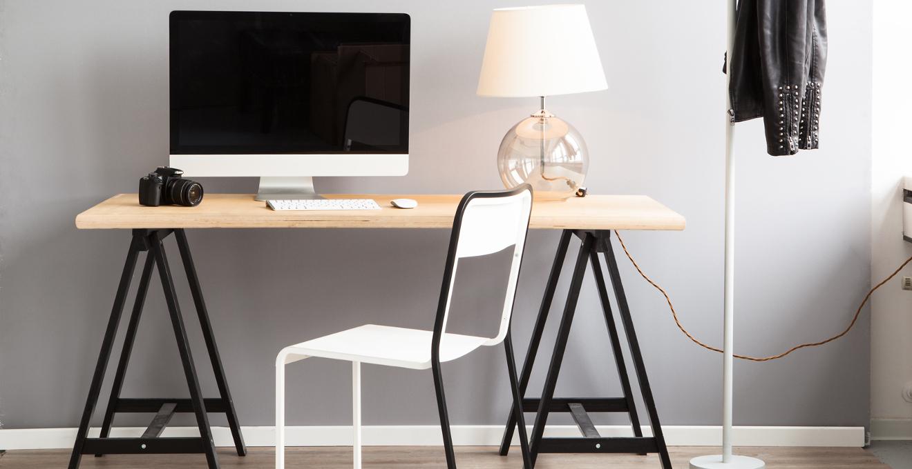oficina minimalista pura expresi n de amplitud westwing